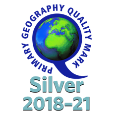 Primary Geography Quality Mark Silver 2018-21